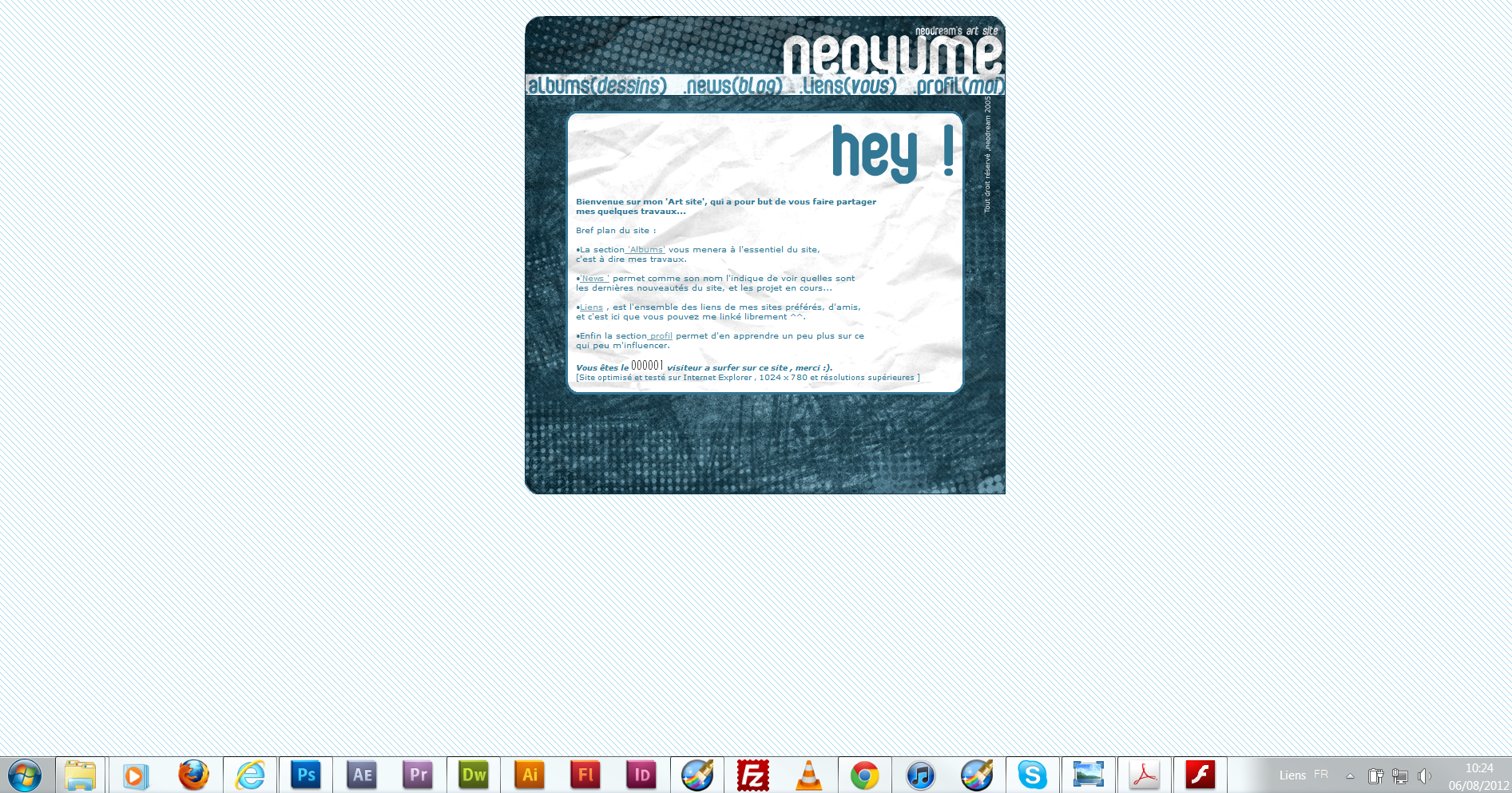 neoyume story blog first hp