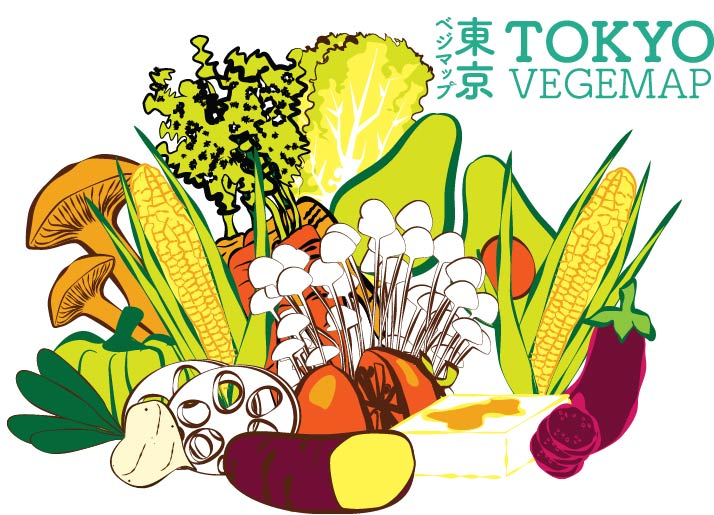 vegeproject map postcard vegetables