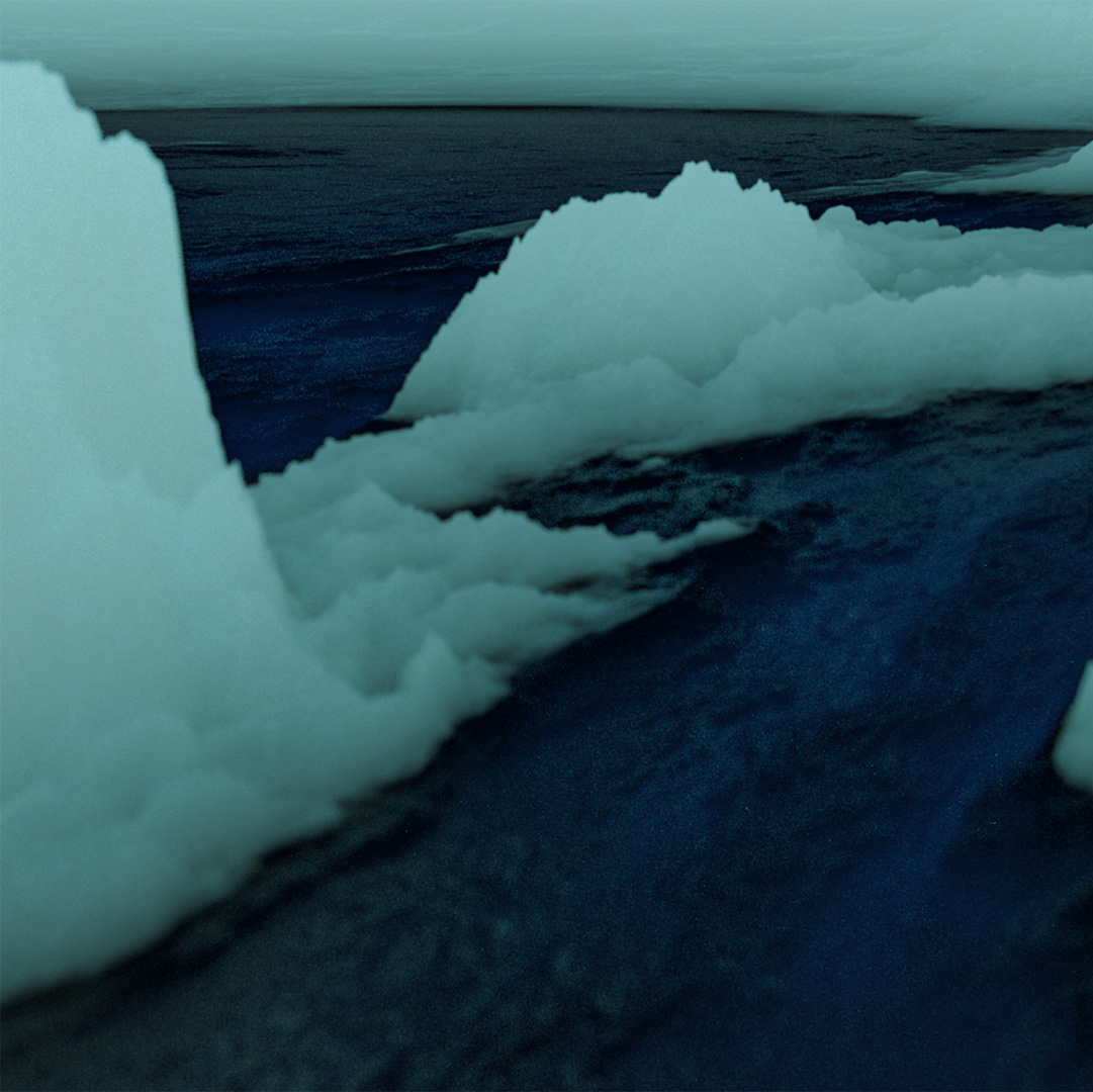 blender procedural landscape iceberg square