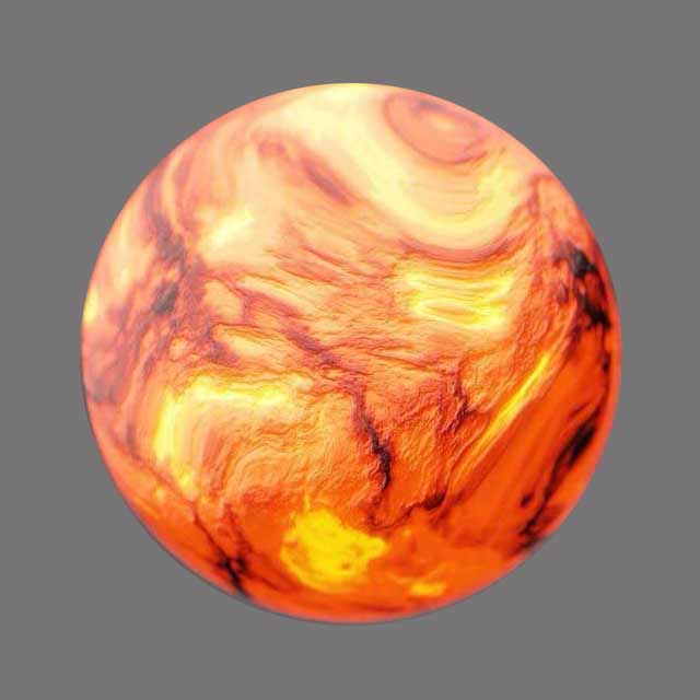3d blender material shader node lava
